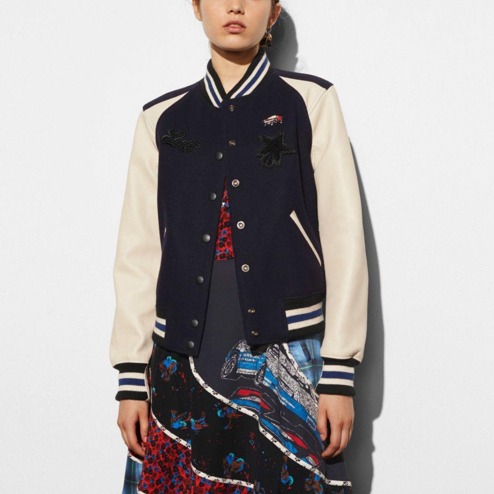 Varsity Jacket - Alternate View M