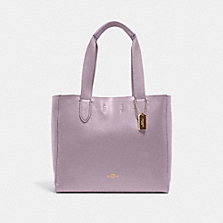 DERBY TOTE - IM/SOFT LILAC - COACH 58660