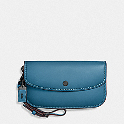 CLUTCH - RIVER/BLACK COPPER - COACH 58818