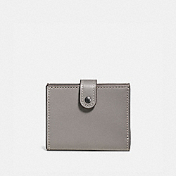 SMALL TRIFOLD WALLET - BP/HEATHER GREY - COACH 58851