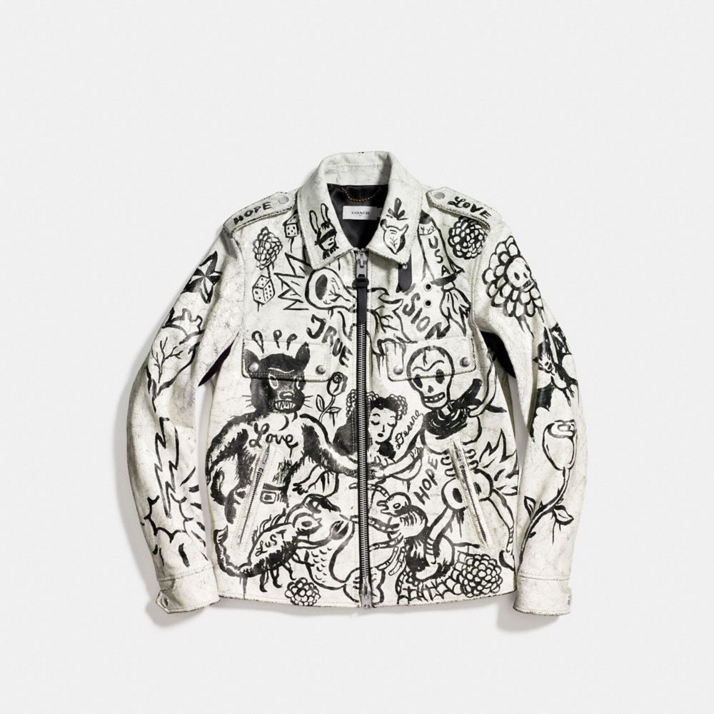 Printed Officer Jacket - Alternate View A1