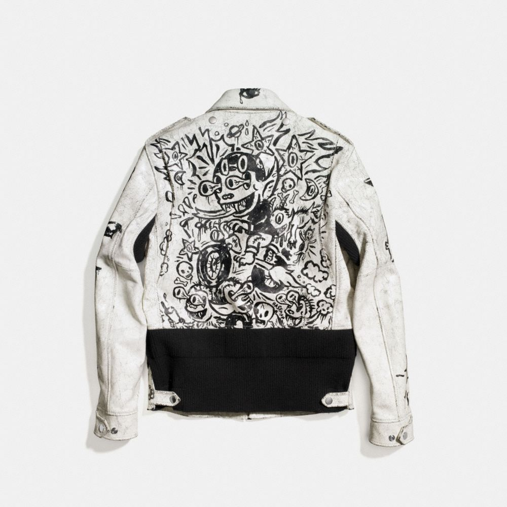 Printed Officer Jacket - Alternate View A2
