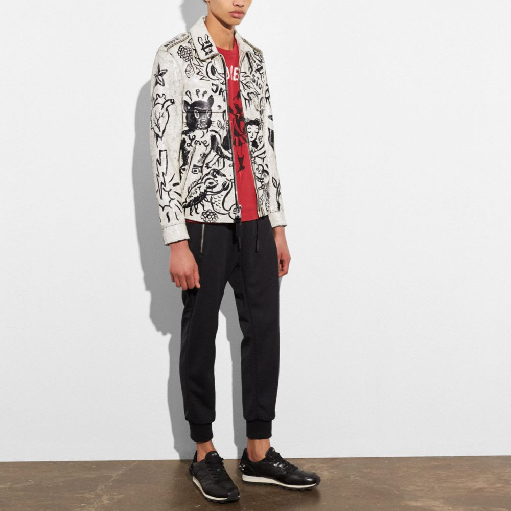 Printed Officer Jacket - Alternate View M2