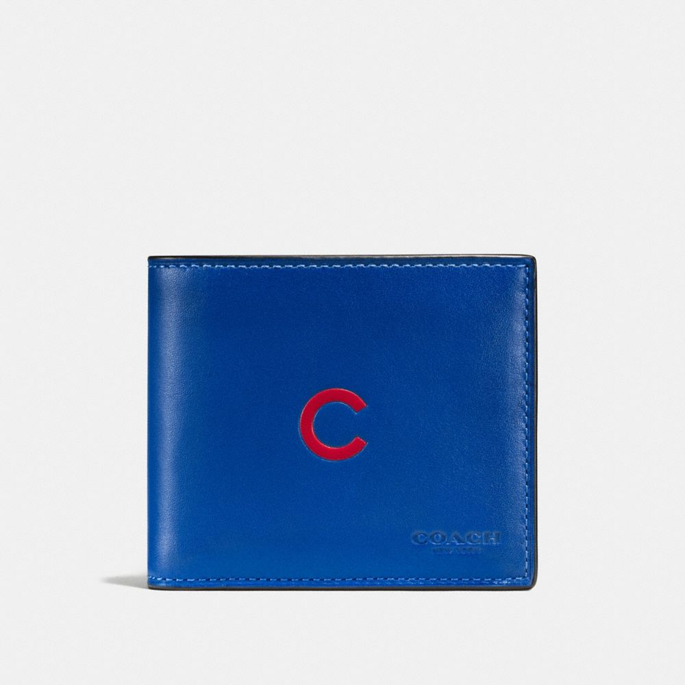 3-IN-1 WALLET IN SPORT CALF LEATHER WITH MLB TEAM LOGO