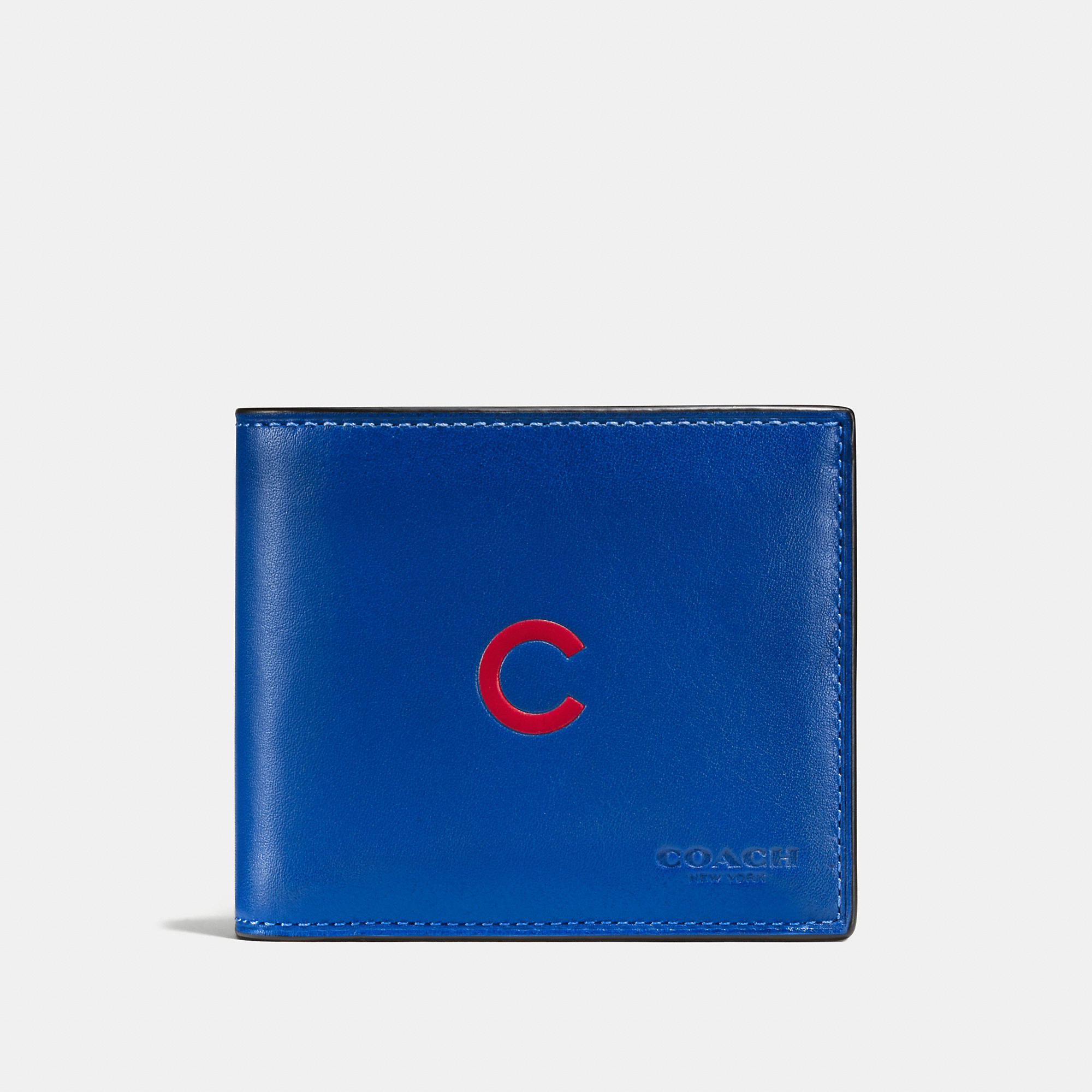Coach 3-in-1 Wallet In Sport Calf Leather With Mlb Team Logo