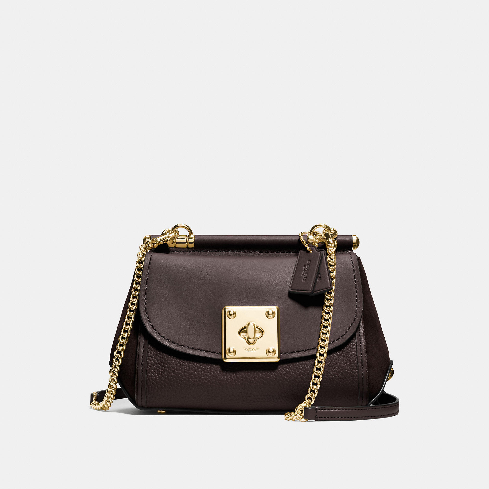 Coach Drifter Crossbody In Mixed Leathers