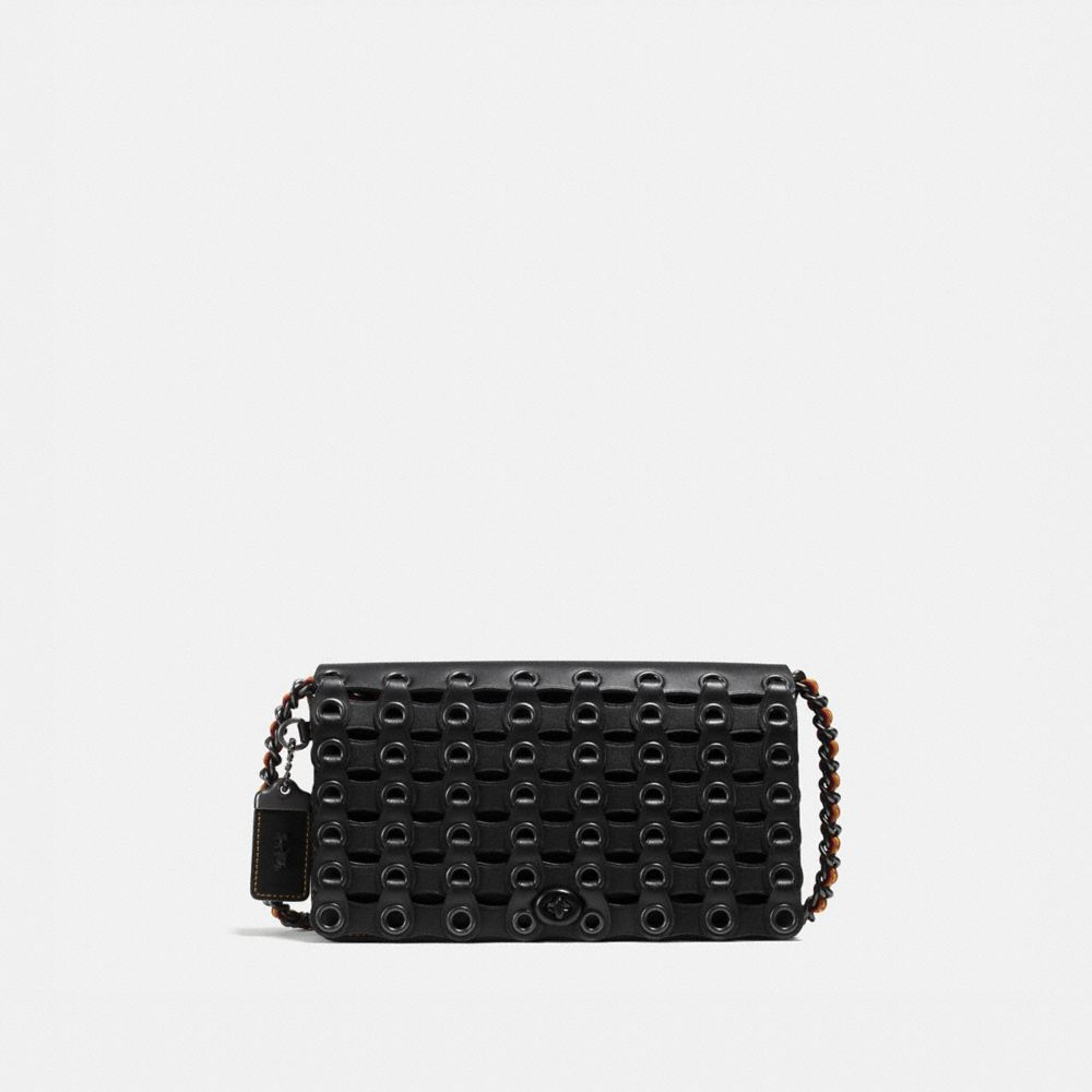 Dinky in Coach Link Glovetanned Leather