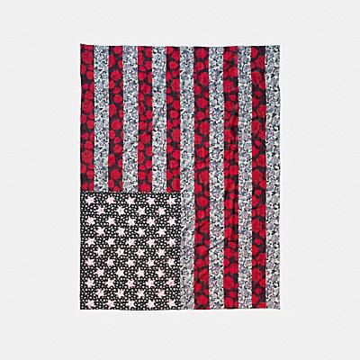 FLAG 補丁絲巾