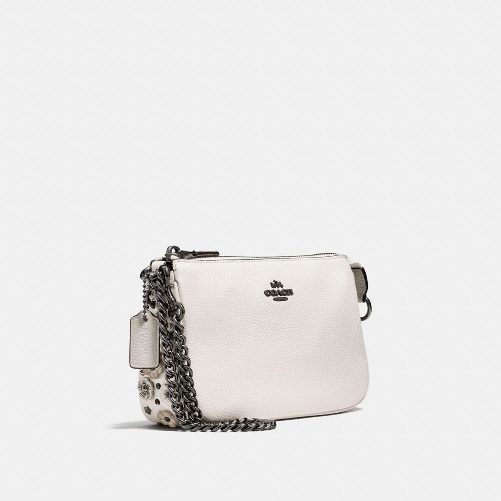 Coach Nolita Wristlet 19 With Willow Floral Detail Alternate View 1