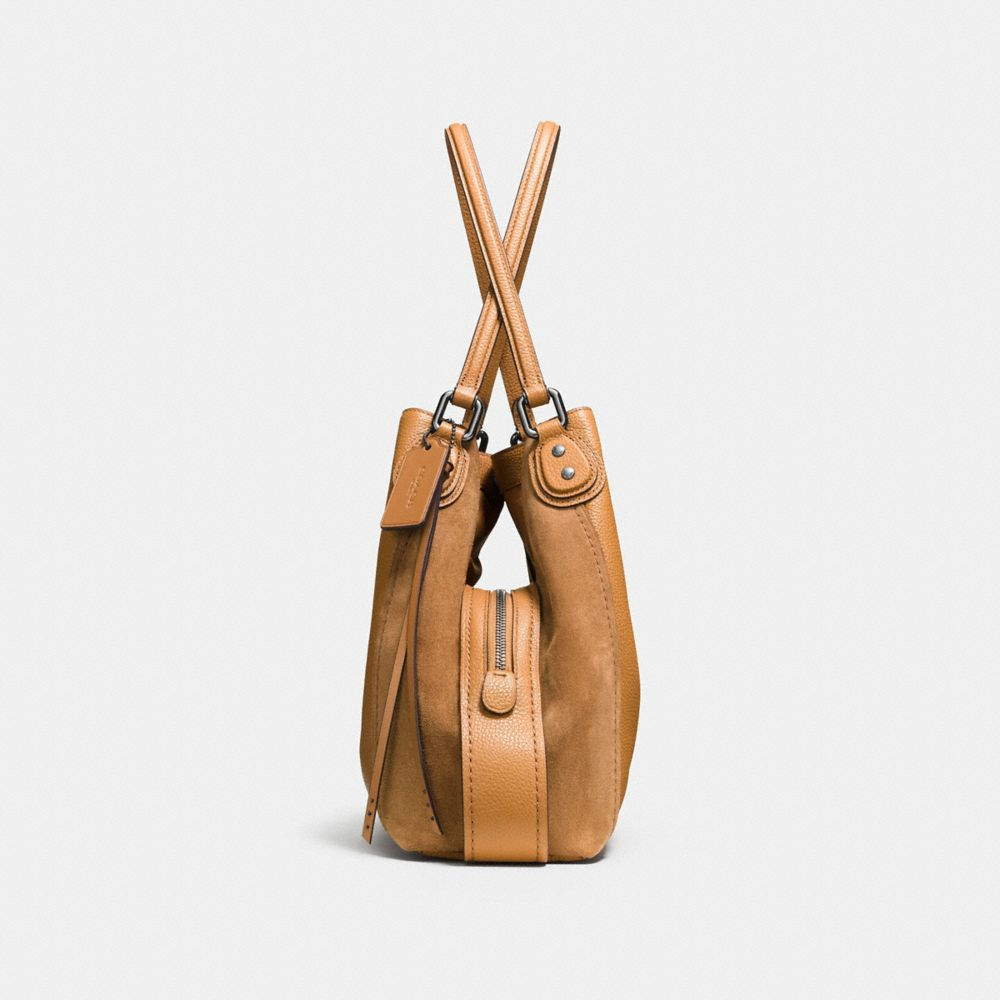 Edie Shoulder Bag 31 in Mixed Leathers - Alternate View A1