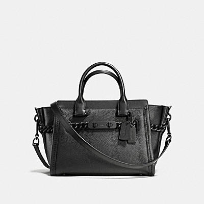 COACH ID SWAGGER 27 IN PEBBLE LEATHER