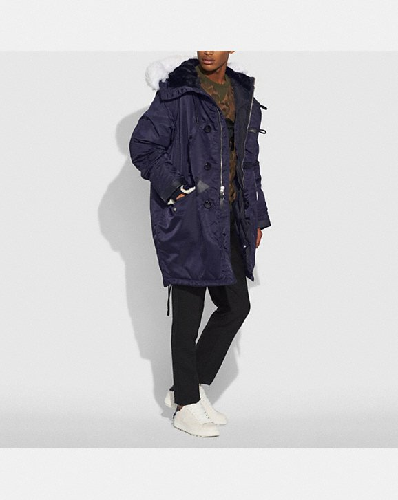Coach Patch Parka