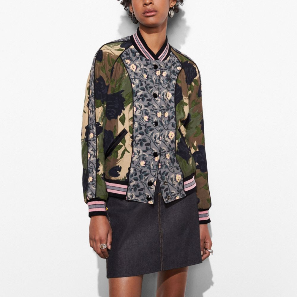 REVERSIBLE SATIN JACKET