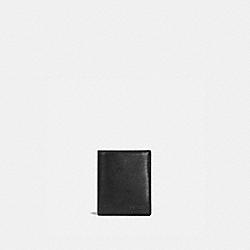 SLIM COIN WALLET - BLACK - COACH 59671