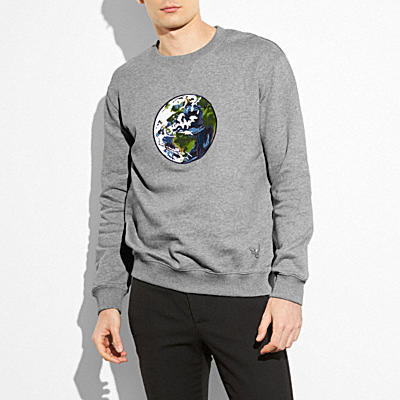 UNISEX PLANET EARTH SWEATSHIRT