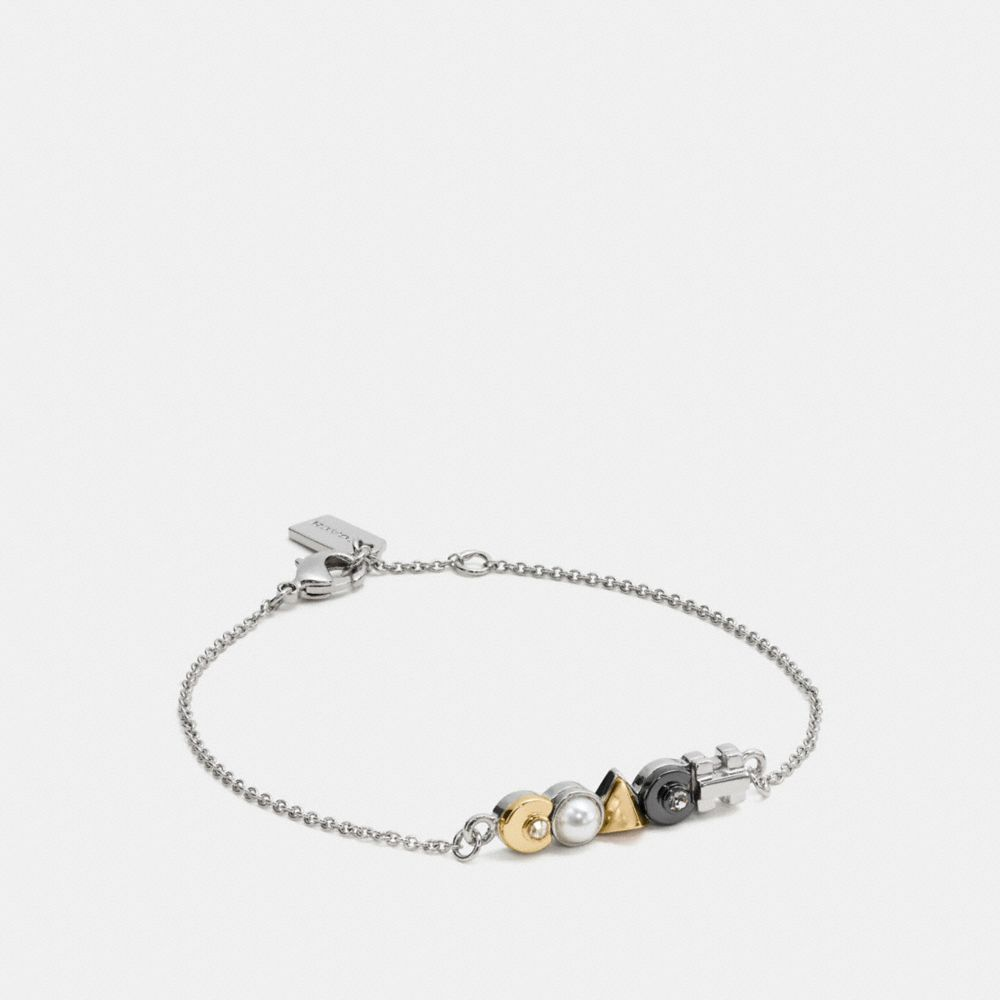 COACH DECO CHAIN BRACELET