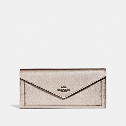 SOFT WALLET - GM/PLATINUM - COACH 59970