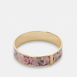 BANGLE WITH KAFFE FASSETT PRINT - GD/PINK MULTICOLOR - COACH 6007