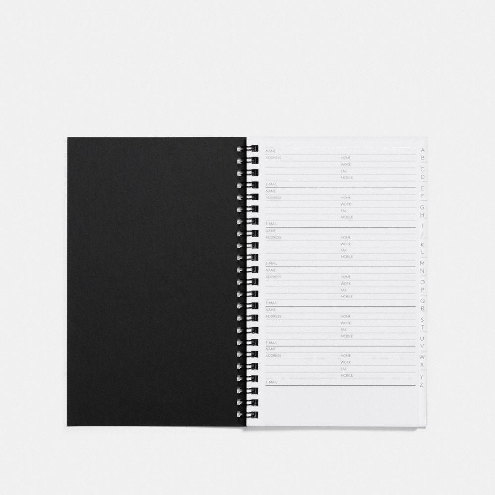 6X8 SPIRAL ADDRESS BOOK REFILL - Alternate View A1