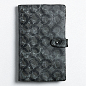 BOWERY LEATHER MULTI C NOTEBOOK