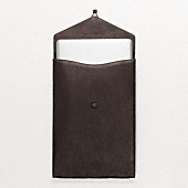 BOWERY LEATHER LAPTOP CASE 15INCH