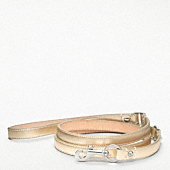 METALLIC LEATHER LEASH