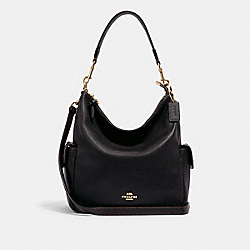 PENNIE SHOULDER BAG - IM/BLACK - COACH 6152