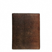 LIZARD PASSPORT HOLDER