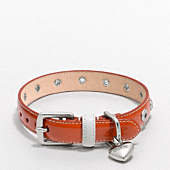 LEATHER GROMMET COLLAR