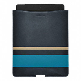 BLEECKER DEBOSSED PAINTED STRIPE IPAD SLEEVE