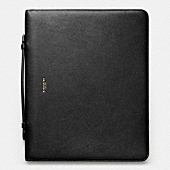 CROSBY LEATHER ZIP EXECUTIVE PORTFOLIO