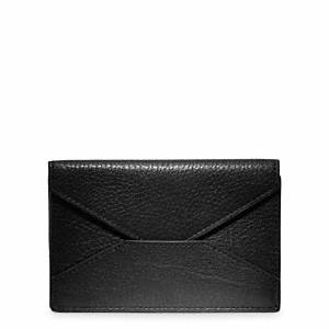 Visitor asks about coach crosby leather business card case for Business card holder coach