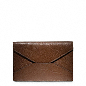 CROSBY LEATHER BUSINESS CARD CASE