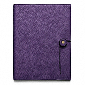 Bleecker Pebbled Leather A5 Notebook