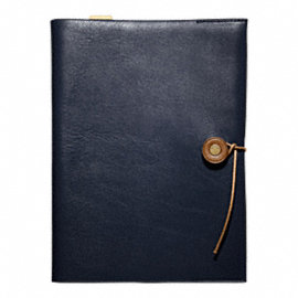 Bleecker Leather A5 Notebook