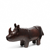 BLEECKER LEATHER RHINO OBJET