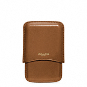 CROSBY DRESS LEATHER MOLDED CARD CASE