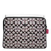 POPPY SIGNATURE SATEEN METALLIC LAPTOP SLEEVE