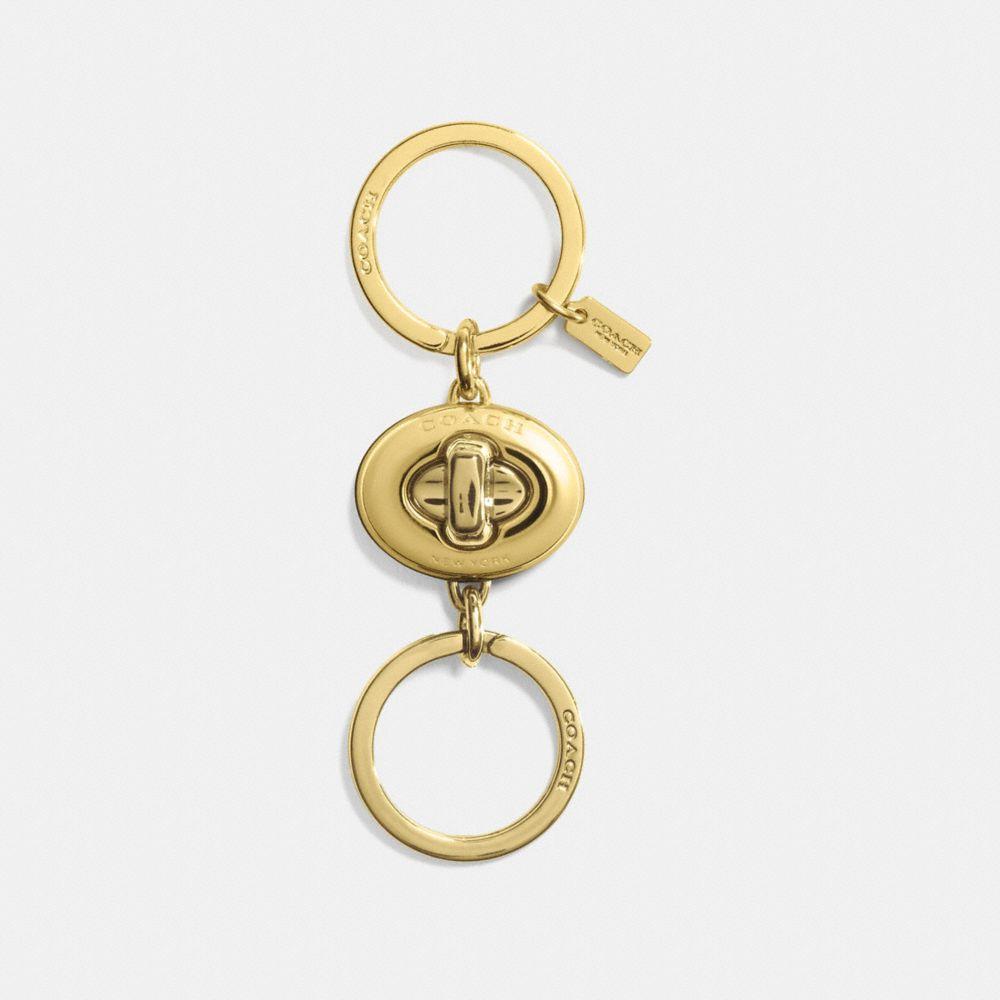 Mini Turnlock Valet Key Ring