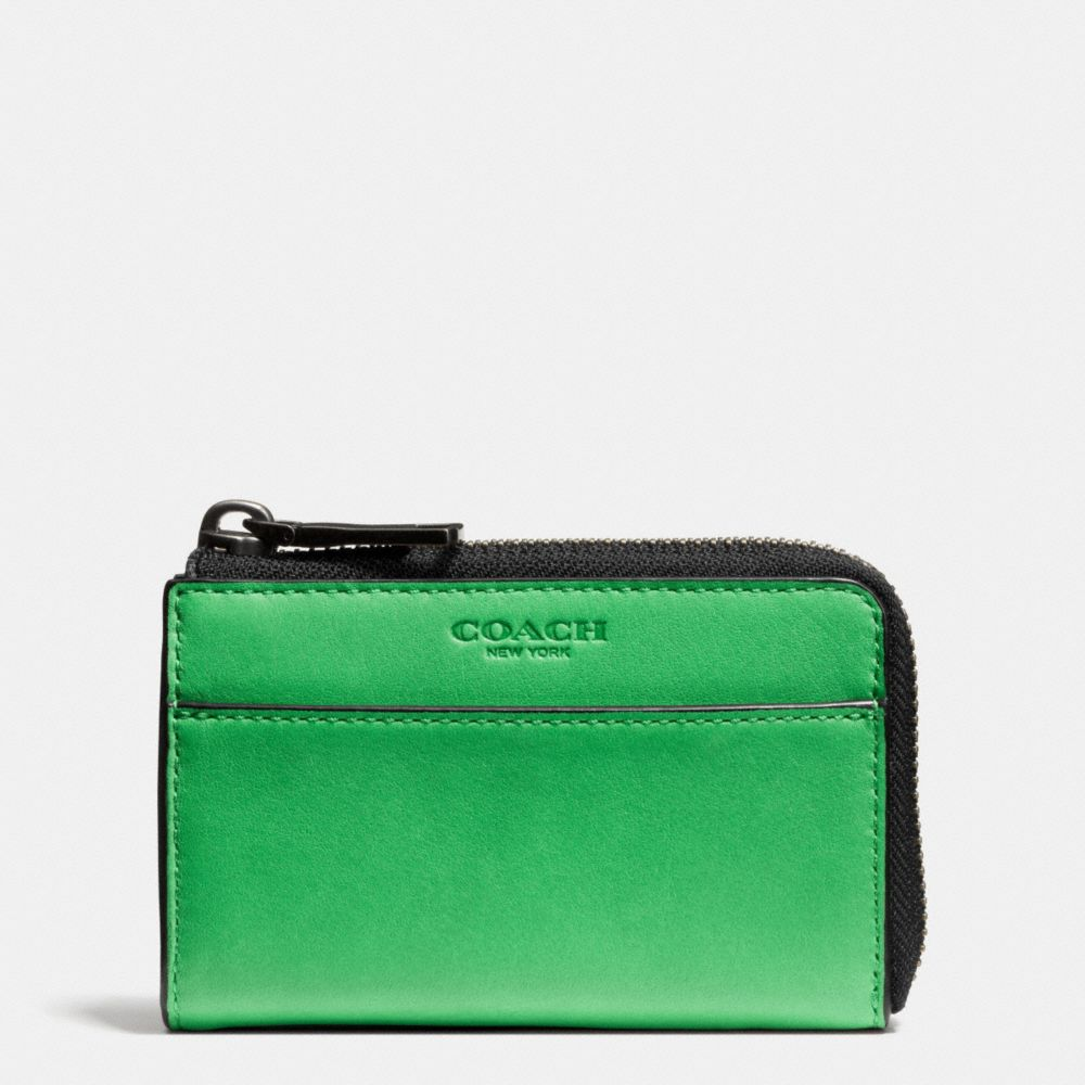 Zip Key Case in Sport Calf Leather