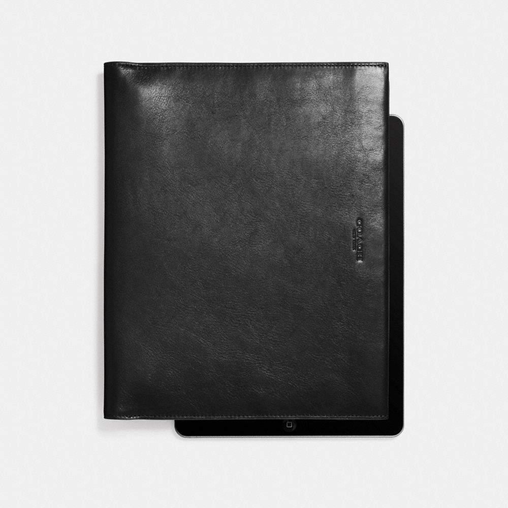 BIFOLD IPAD CASE IN SPORT CALF LEATHER