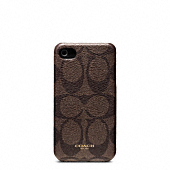 BLEECKER MOLDED IPHONE 4 CASE IN SIGNATURE