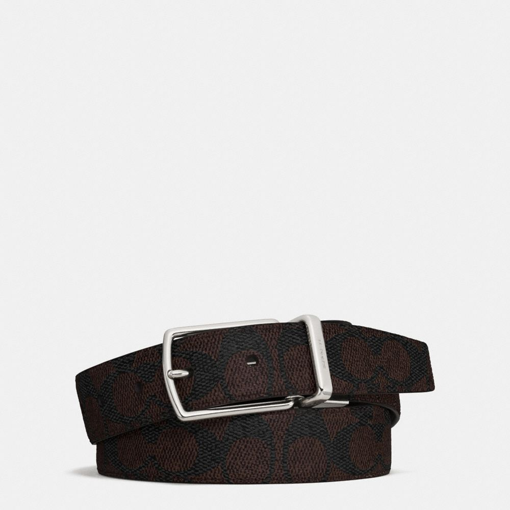 Coach Modern Harness Cut-To-Size Reversible Belt