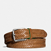FLAT SOLID TUBULAR WEAVE BELT