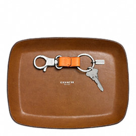 Bleecker Leather Dress Valet Tray