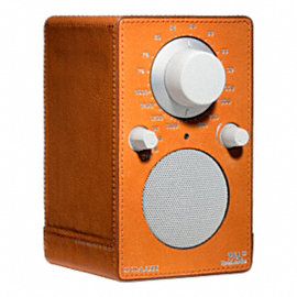 BLEECKER LEATHER WRAPPED TIVOLI RADIO 1418