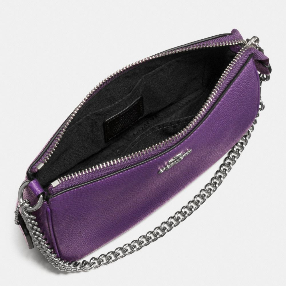 Nolita Wristlet 19 in Polished Pebble Leather - Alternate View A1