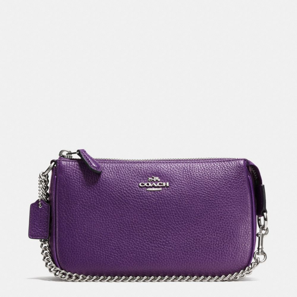 NOLITA WRISTLET 19 IN POLISHED PEBBLE LEATHER - Alternate View