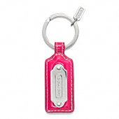 COACH TAG KEY RING