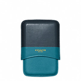 BLEECKER LEATHER MOLDED COLORBLOCK CARD CASE